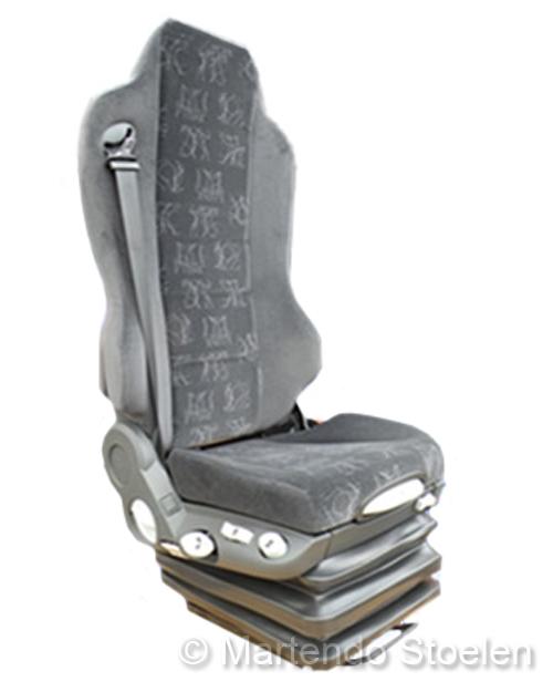 Hoesset MAN Grammer bijrijdersstoel+gordel+geïnt. hoofdsteun