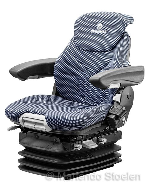 Grammer Maximo XXL luchtgeveerde stoel stof blauw-zwart
