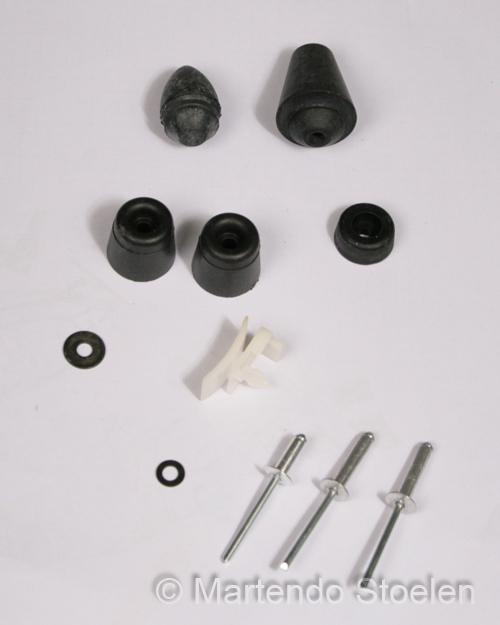 Set rubber aanslagen t.b.v. Grammer MSG12 en MSG20.