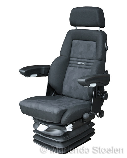 Grammer / Recaro Expert M luchtgeveerde stoel MSG95 12 Volt