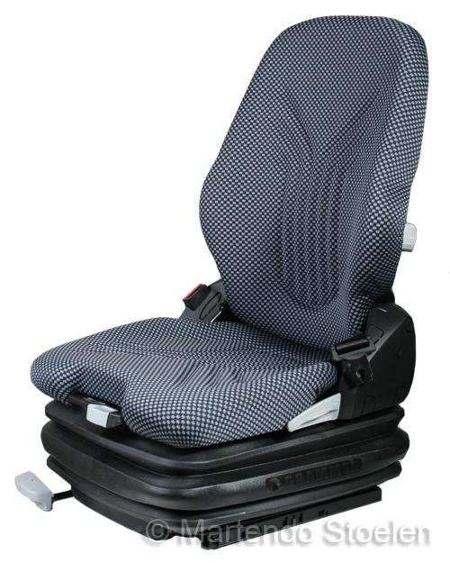 Grammer Primo XXL luchtgeveerde heftruck-bouwm.stoel stof bz