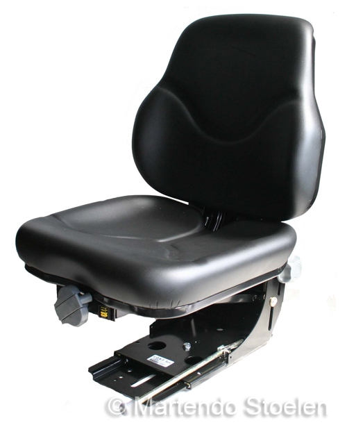 Cobo mechanisch geveerde tractorstoel SC79/M30 PVC zwart