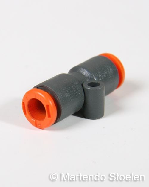 Voorkeur Push-in koppeling voor het verbinden van 6 mm. luchtslang XQ16