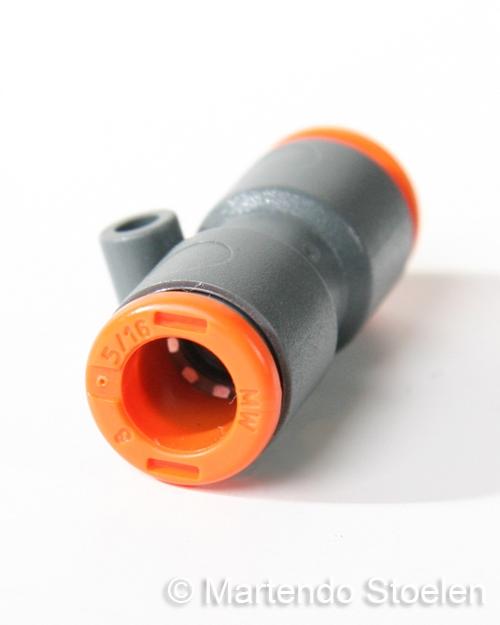 Vaak Push-in koppeling voor het verbinden van 8 mm. luchtslang YL98