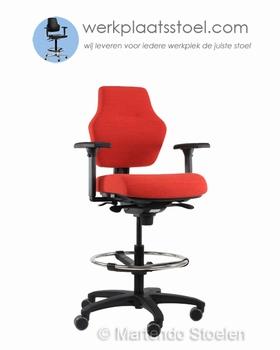 Werkplaatsstoelen, stahulpen, ESD stoelen, zadelzittingen