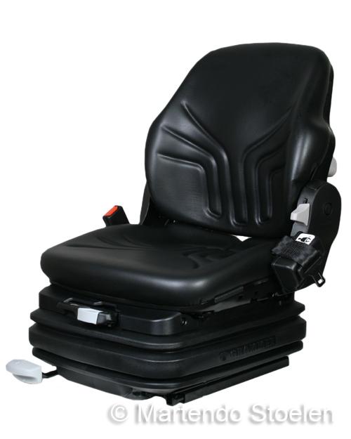 Grammer Primo XL PLUS luchtgeveerde heftruckstoel pvc zwart