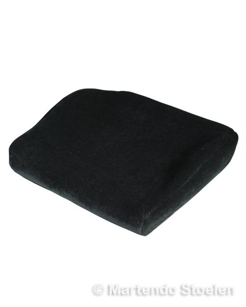 Bekleding stof zwart t.b.v. zitkussen BE-GE 7000-9000 (CR33)
