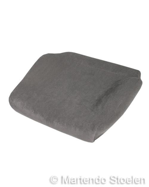 Bekleding stof grijs t.b.v. zitkussen BE-GE 7000-9000