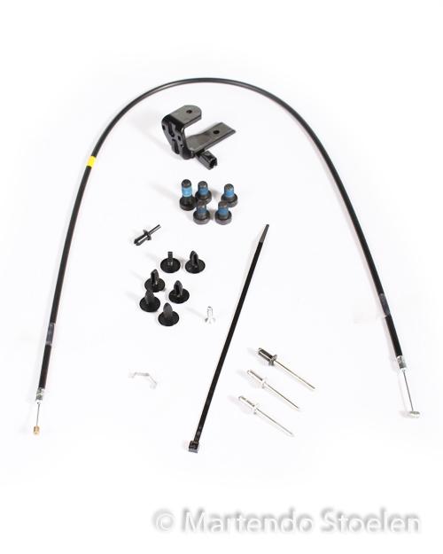 Kabel tbv regelb. schokdemper MSG95A Varemo bed. voorzijde