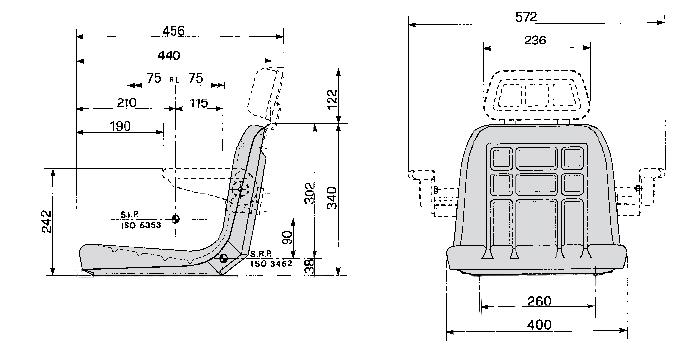 Cobo kuip GT60/P1 montage onderzijde kuip
