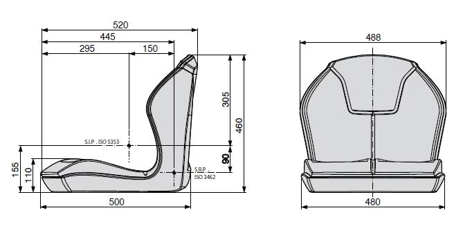 Cobo kuip PS48 PVC