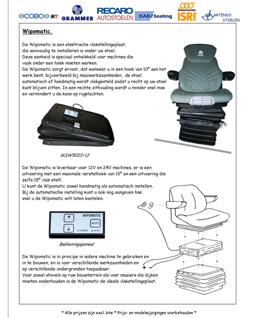 Electrische evenaar/vlakstellingsplaat WIPOMATIC 110 mm 15°