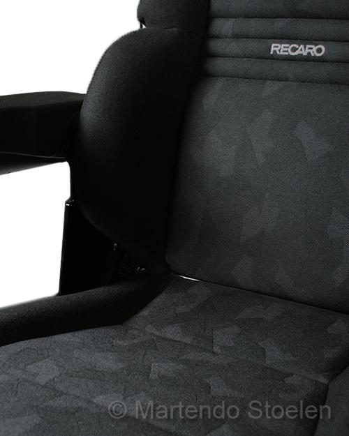 Grammer / Recaro Expert M mechanisch geveerde met vlakke rug