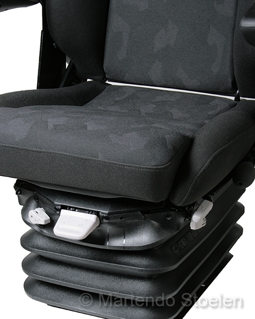Grammer / Recaro Expert M MSG95 met vlakke rug 24 Volt