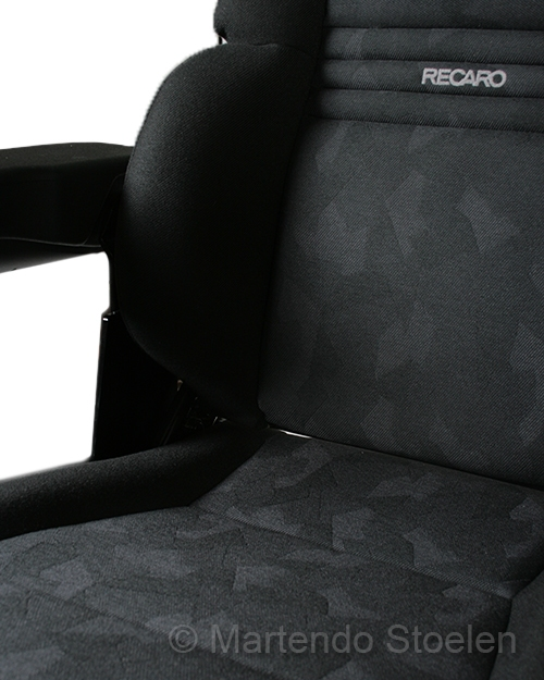 Grammer / Recaro Expert M MSG97 met vlakke rug 12 Volt