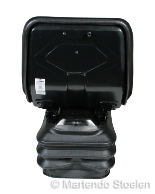 Grammer tractorstoel Compacto Basic XS Kunstleer Zwart