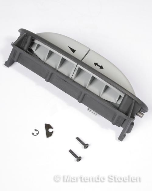 Knoppen met behuizing voor zitkussen Grammer MSG90.5/6 Li.