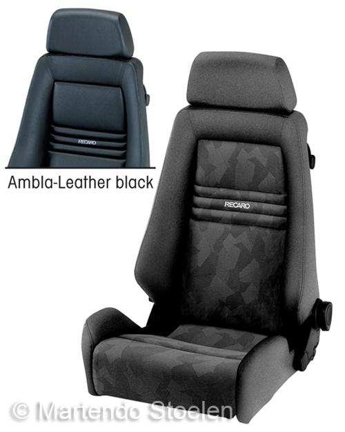 Recaro Specialist L autostoel & bestelautostoel kunstleer