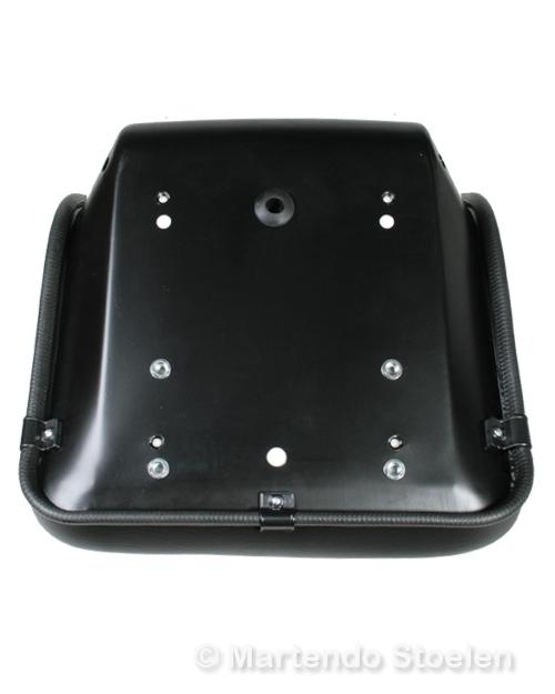 STAR YP11 kuip PVC zwart met onder- en achtermontage