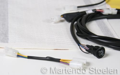 Verwarmingsset 24 Volt 4-standen electronisch geregeld