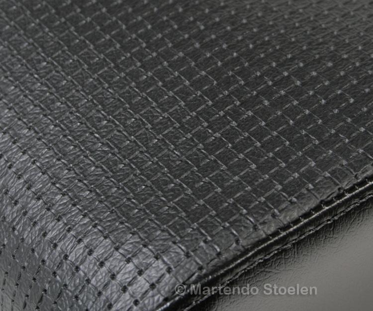 Zitkussen tbv ISRI 6000/6500.517/577 Skai zwart wafelpatroon