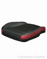 Zitkussen / zitschuim en zithoes Volvo FH stof / rode rand