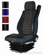 Hoesset MAN ISRI luchtgeveerde stoel +gordel+hoofdsteun