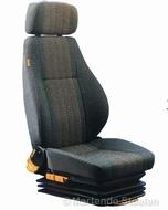 Hoesset MAN ISRI ongeveerde stoel met hoofdsteun