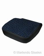 Zitkussen / Zitschuim + hoes Iveco Daily blauw met blokjes