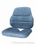 Kussenset tbv Cobo SC78 Origineel New Holland stof blauw NH