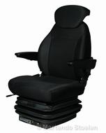 Mechanisch geveerde stoel E85/C1 STOF met arml. en rugverl.