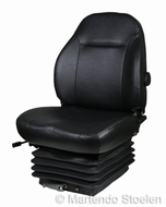 Mechanisch geveerde stoel E85/C1 PVC