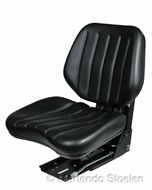 Grammer mechanische geveerde stoel DS44/1B PVC zwart
