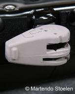 Knop voor het bedienen van de regelbare schokdemper MSG95