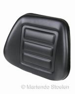 Rugkussen t.b.v. Klepp 1040 en Klepp 1050 VS PVC zwart