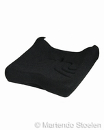 Zitkussen tbv heftruckstoel Grammer MSG20 stof zwart