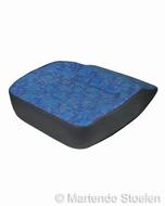 Zitkussen / Zitschuim + hoes Iveco Daily blauw/kobalt/goud