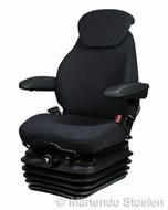 KAB mechanisch geveerde stoel 83/E1 stof storm / anthraciet