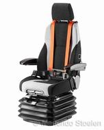 KAB luchtgeveerde stoel 65K4C 24 Volt met 4-puntgordel