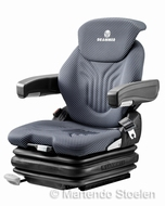 Grammer Primo XL luchtgeveerde heftruckstoel 12 Volt stof bz