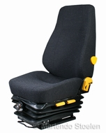 KAB 414 mechanisch geveerde stoel stof storm / antraciet