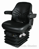 Grammer luchtgeveerde tractorstoel Maximo L/G PVC Comfort