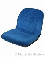 Milsco kuip stof blauw / nieuw maar met paar lichte vlekjes