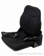Opklapbare bijrijdersstoel met neerklapbare rugleuning 41 cm