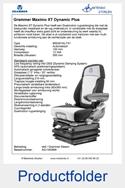 AG1340888 Grammer Maximo XT Dynamic Plus stof