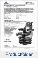 AG1288766 Grammer Maximo Evolution Dynamic SAME-DEUTZ luchtgeveerd MSG95EL-741