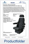 MS908545351VR-Grammer-MSG85-Recaro-Expert-M-vlakke-rug-mechanisch-geveerde-stoel