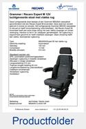 MS90951245351VR-Grammer-MSG95A-Recaro-Expert-M-vlakke-rug-luchtgeveerde-stoel-12V