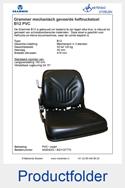 A54042C-AG1127770 Grammer heftruckstoel mechanisch B12