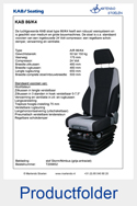 209852-KAB-86K4-luchtgeveerde-stoel